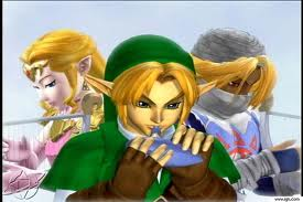 Link, Zelda and Sheik