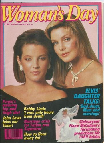 Lisa & Priscilla magazine (1988=