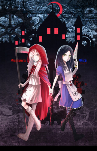 Little Miss Red капот, худ and Dear Old Alice