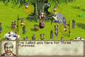 Lord of the Rings: Fellowship of the Rings (GBA) screenshot - lord-of-the-rings photo