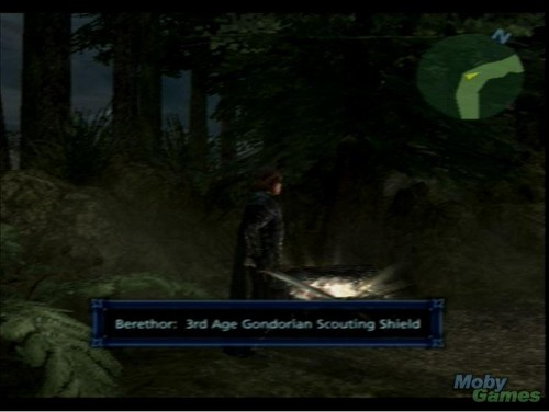 Lord of the Rings: The Third Age (PS2 version) screenshot