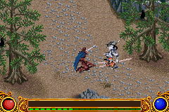 Lord of the Rings: The Two Towers (GBA version) screenshot