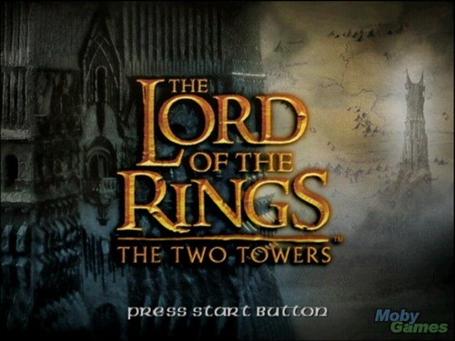 Lord of the Rings: The Two Towers (PS2 version) screenshot