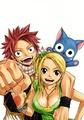 Lucy, Natsu & Happy