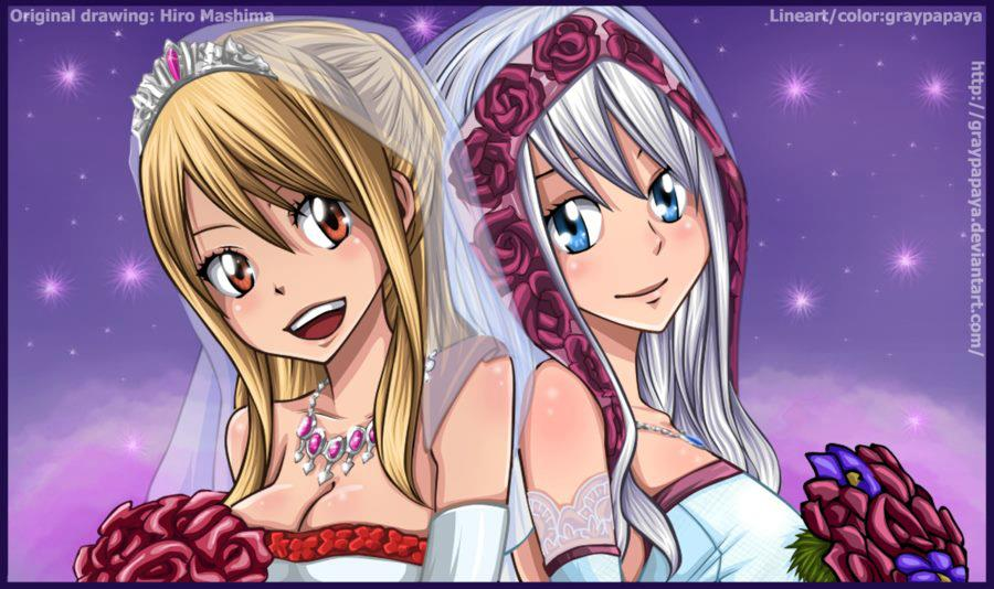 Lucy and Mirajane :)