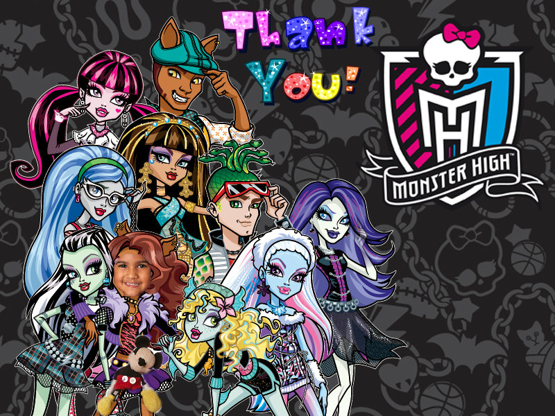 Monster High Thank You