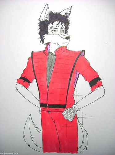 MJ as a furry: Thriller