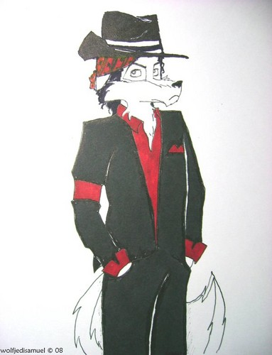 MJ as a furry: Ты Rock My World