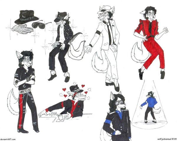 MJ as a furry