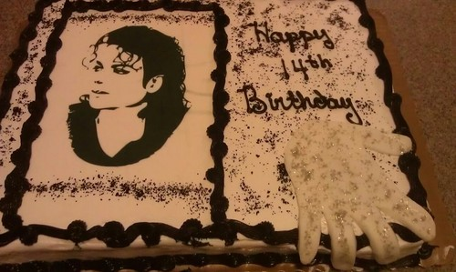 MJ birthday cake