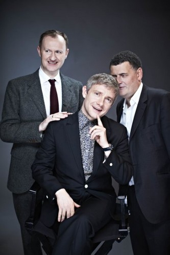 Martin at the Radio Times Covers Party (2013)