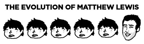 Matthew Lewis Evolution