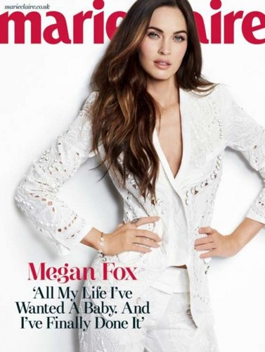 Megan raposa - Marie Claire UK 2013