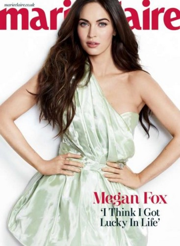 Megan fox, mbweha - Marie Claire UK 2013