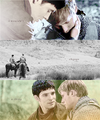 Merlin &amp; Arthur - merlin-and-arthur fan art