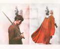 Merlin&Arthur - merlin-on-bbc fan art