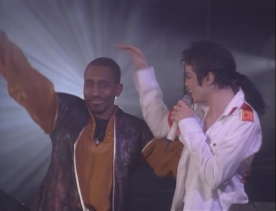 Michael And Backing Musician, Greg Phillinganes