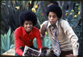 Michael And Older Brother, Marlon - michael-jackson photo