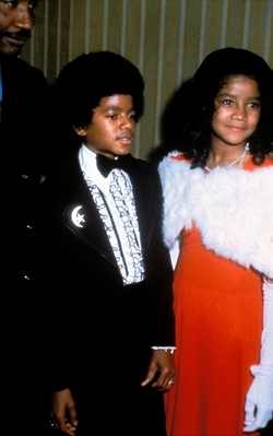 Michael And Older Sister, Latoya Back In 1972
