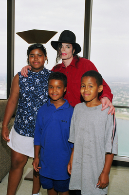 Michael In Detroit Back In 1998