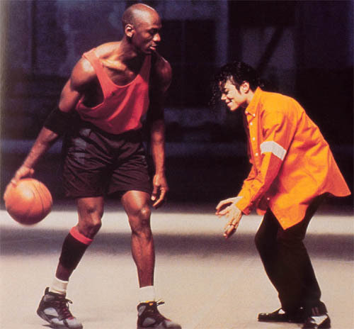 Michael Jackson vs Michael Jorden in 果酱