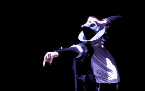 Michael Jackson wallpaper containing a concert called Michael ♥
