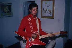 Micheal jackson playing