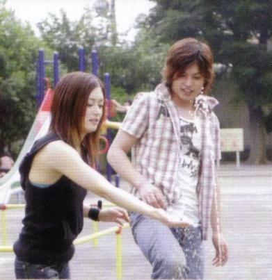 Miki (Rukia) & Tatsuya (Ichigo)