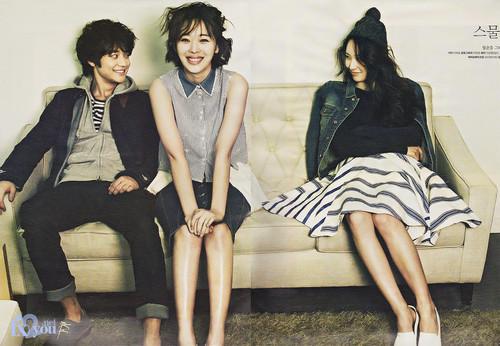 Shinee images Minho , Sulli and krystal for High Cut HD ...