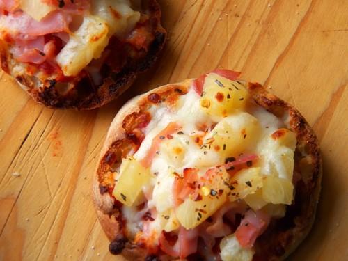 Mini पिज़्ज़ा, पिज्जा