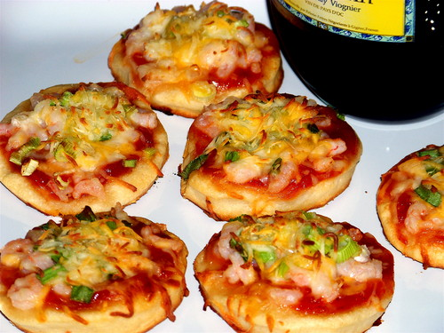 Mini pizza, bánh pizza