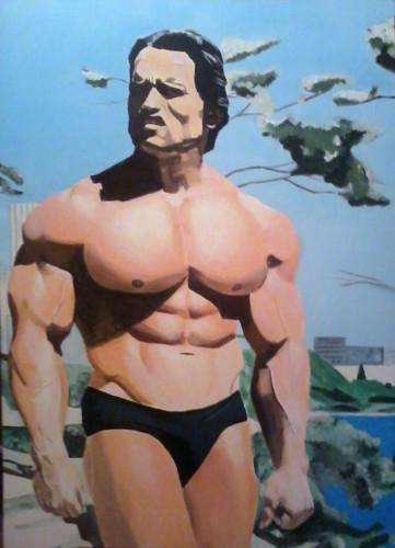 Monika Maria O. My painting of Arnold