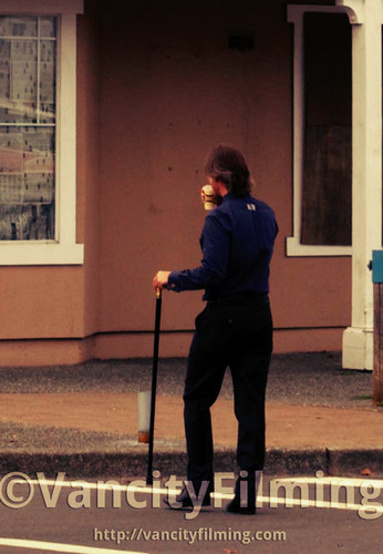 Mr. सोना / Robert playing with his cane ^_^