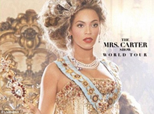 Mrs. Carter 显示 world tour 2013 leaked
