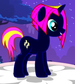 My poney OC Storm Chaser