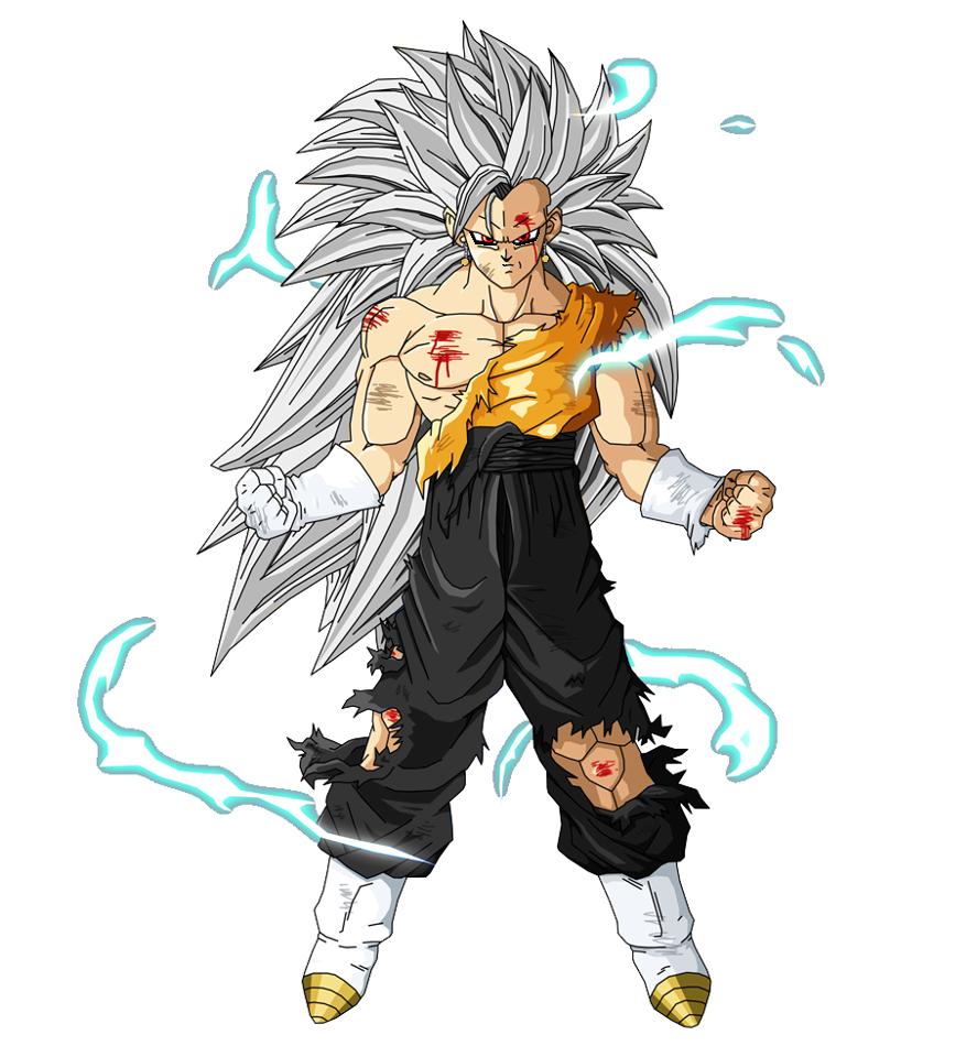 Dragon Ball Z Goten SSJ3