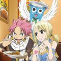 Natsu,Lucy and Happy!