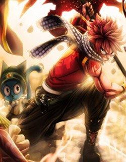 Fairy Tail Images Natsu And Happy Wallpaper Background Photos