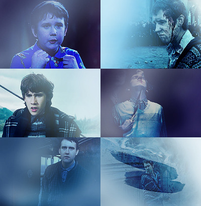Neville Longbottom + blue