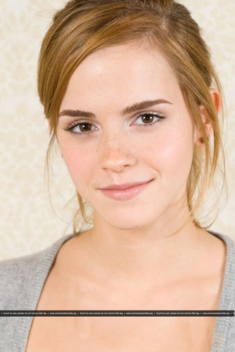 Emma Watson wallpaper containing a portrait entitled New HQ Portraits of Emma from 2009