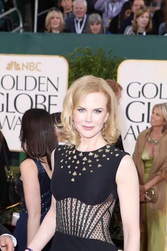 Nicole Kidman at The Golden Globes 2013