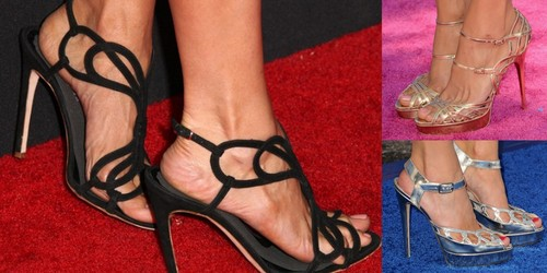 Nina Dobrev's shoes