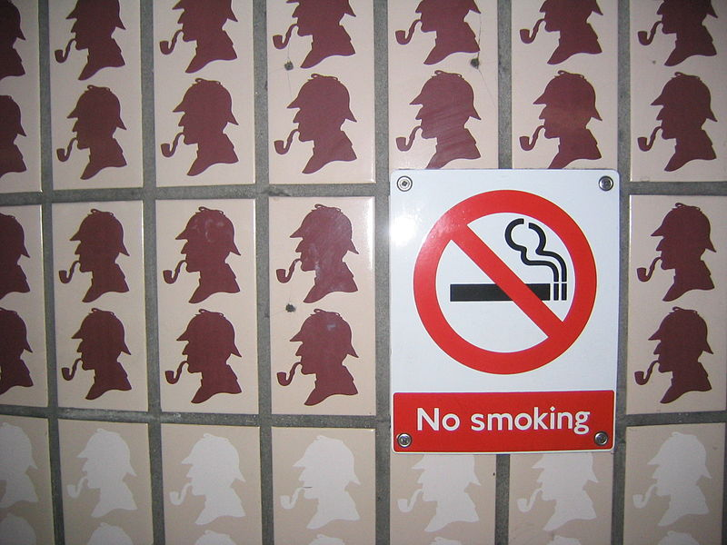 No Smoking, Sherlock