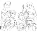 Non-Disney Heroines - childhood-animated-movie-heroines fan art
