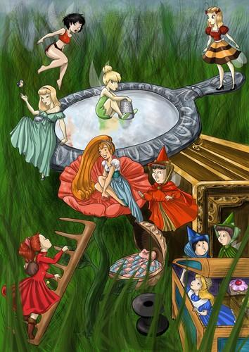 Non/Disney Heroines