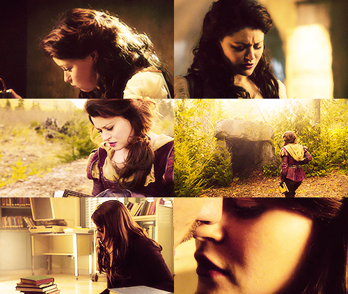 Once Upon A Time (Belle) + looking down-faceless