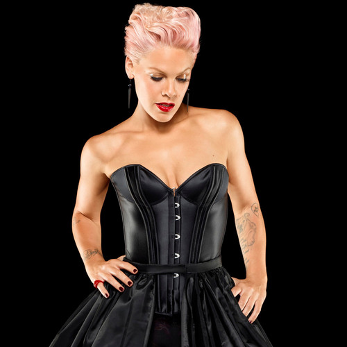 rosa wallpaper possibly containing a cena dress titled P!nk