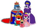 PB&J Otter - Royal Family - pb-and-j-otter fan art