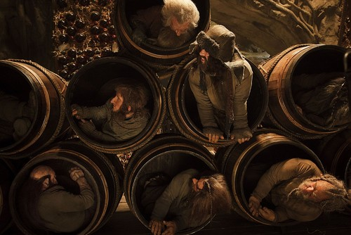 The Hobbit: The Desolation of Smaug wallpaper possibly with a cellar called Packing of the Dwarves