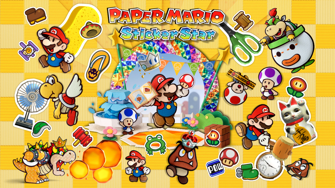 Paper Mario Sticker Star Images Wallpaper HD And Background Photos